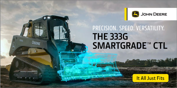 Who says you can't fit a SmartGrade™ dozer into small spaces? We fit one into a CTL